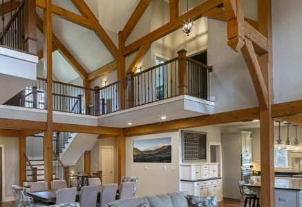 Murrysville-Great Room - PA Timber Great Room