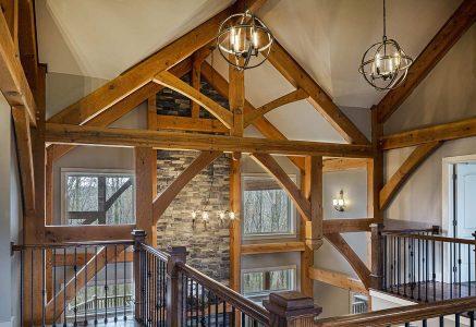 Murrysville-Bent - Timber Frame Bent