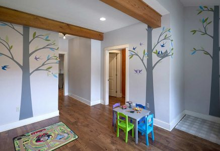 Murrysville-playroom - timber playroom