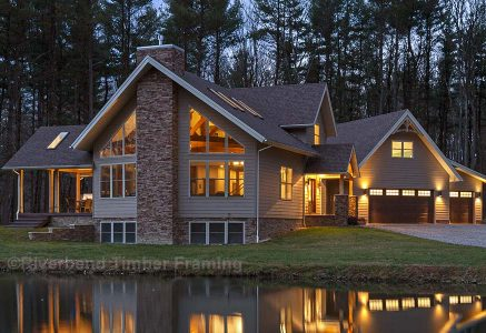 Custom Pennsylvania Timber Home