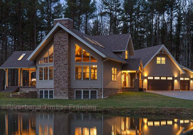 Custom Pennsylvania Timber Home