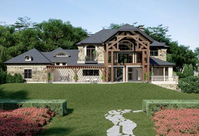 Villa Del Marche Plan