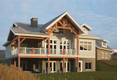 Hamilton timber home plan