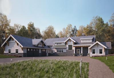 Lexington timber frame plan