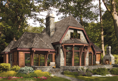 Westmount timber frame home