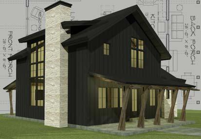 Farmhouse Style Timber Homes - farmhouse floor plans