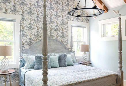 york bedroom - timber bedroom