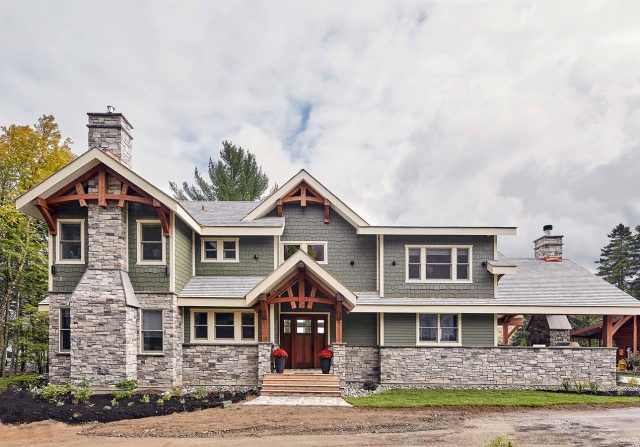 Craftsman Timber Frame Homes - Timber Frame Home
