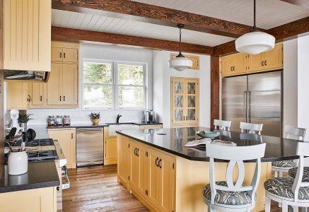 York Kitchen 2 - Kitchen timber frame