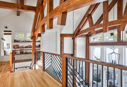 york loft - Timber Frame Loft