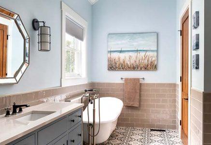 york master bath - master bathroom