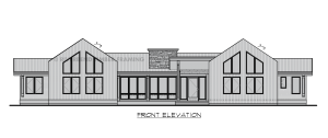 Mineral Point - front elevation
