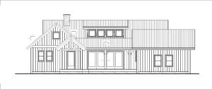 Augusta - Front farmhouse elevation