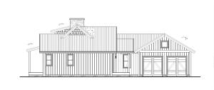 Augusta - Left Farmhouse elevation