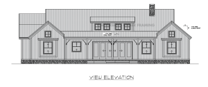 Augusta - Rear elevation