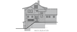Belmore - Front farmhouse elevation