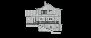 Belmore - Rear elevation