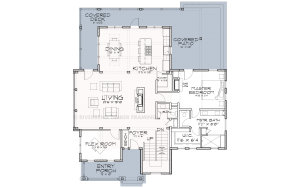 Belmore - Main Farmhouse plan