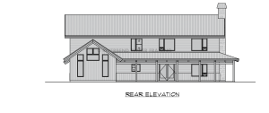 Branson - Rear elevation