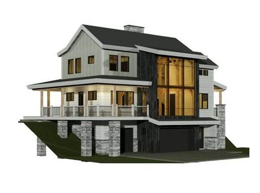 farmhouse-style design