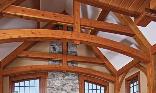 Riverbend Timber Frame Homes - timber craftsmanship