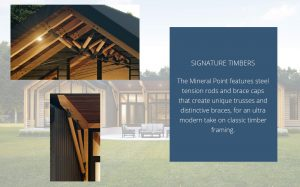 Mineral Point - signature timbers