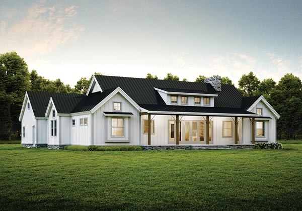 Riverbend Timber Frame Homes - farmhouse style