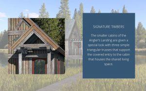 Angler's Landing - signature timbers