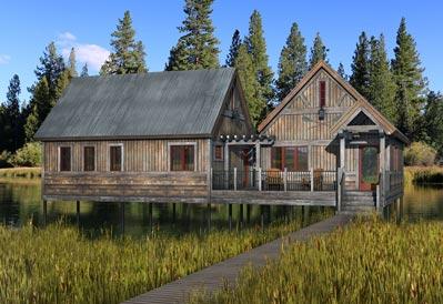 Angler's Landing Fishing Cabin
