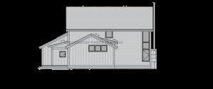 Cottonwood - left elevation
