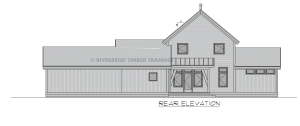 Cottonwood - Rear elevation