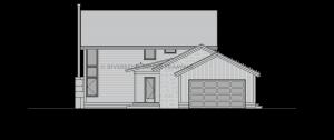 Cottonwood - Right elevation