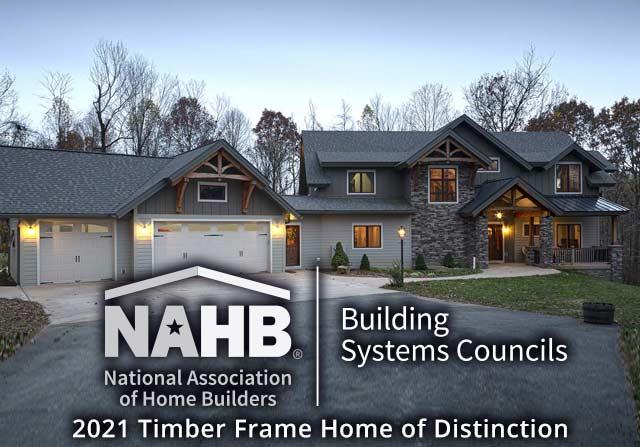Awards - Custom timber home award