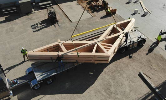 Builders & Architects - Custom Timber Trusses